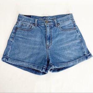 American Eagle Mom Short Jean Shorts size  4
